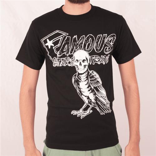 Camiseta Famous Death Crow Preto P