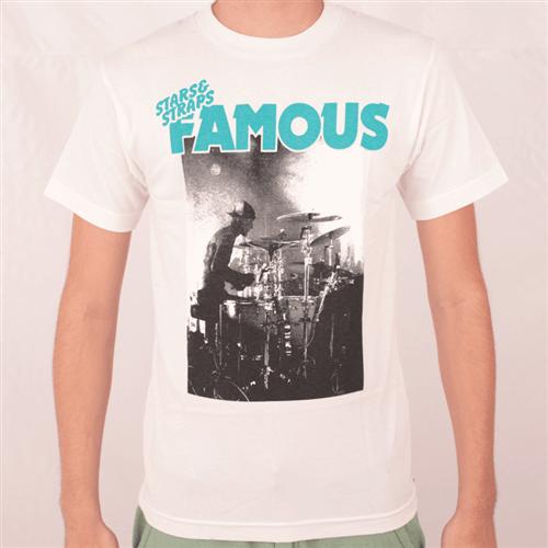 Camiseta Famous Grievous Branco P