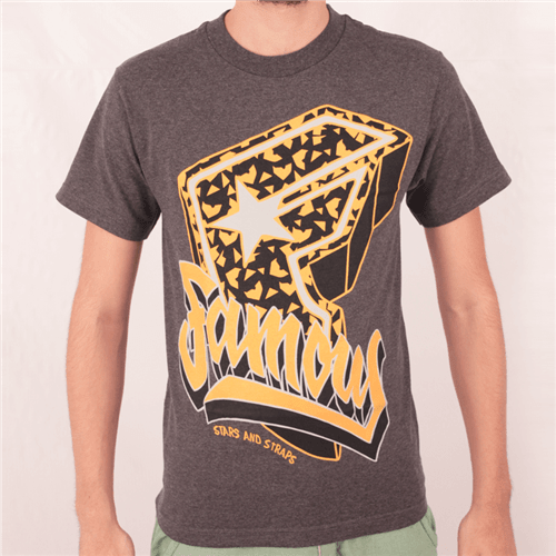 Camiseta Famous Party All The Time Cinza P