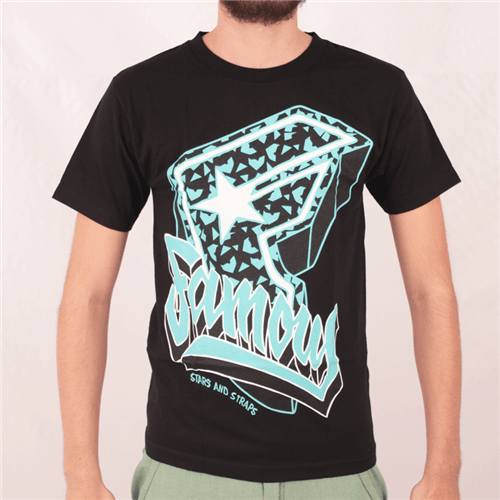 Camiseta Famous Party All The Time Preto P