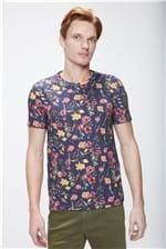 Camiseta Floral Masculina