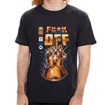 - Camiseta Fuck Off Thanos - Masculino - P