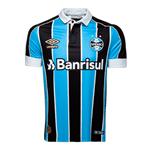 Camiseta Grêmio Infantil Umbro OF.1 2019 3G160781 Tricolor