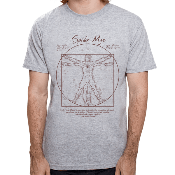 - Camiseta Homem Aranha Vitruviano - Masculina - P