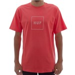 Camiseta Huf Box Logo Peach (P)