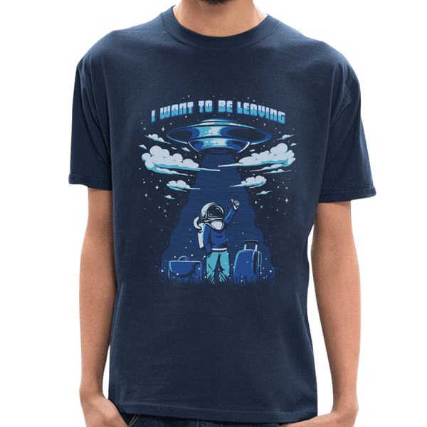 Camiseta I Want To Be Leaving - Masculina - P