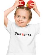 Camiseta Infantil Poeme-se