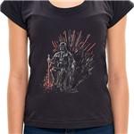 Camiseta Jedi Of Thrones - Feminino 7H22 - Camiseta Jedi Of Thrones - Feminina - P