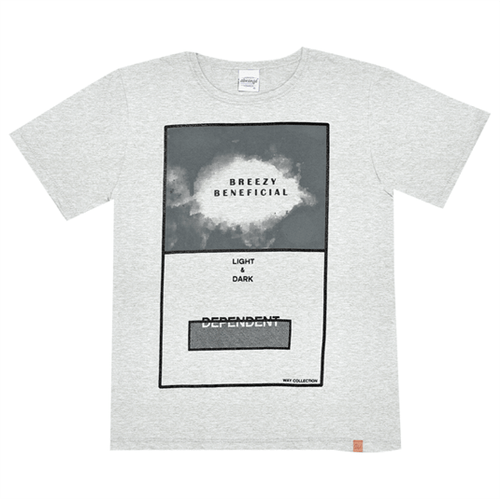 Camiseta Juvenil Abrange Way Breezy Mescla 12