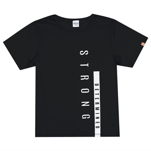 Camiseta Juvenil Abrange Way Strong Preto 12