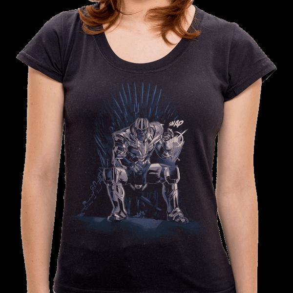 Camiseta King Of Universe - Feminina PR - Camiseta King Of Universes - Feminina - P