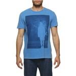 Camiseta LIMITS Básica Azul M