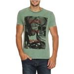 Camiseta LIMITS Manga Curta Verde P