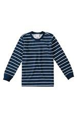 Camiseta Listrada Menino Malwee Kids Azul Escuro - 4