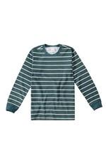 Camiseta Listrada Menino Malwee Kids Verde Musgo - 3