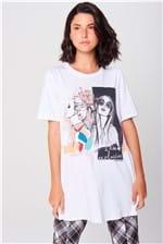 Camiseta Longa Feminina