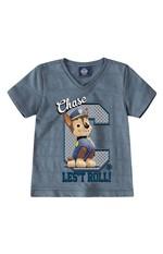 Camiseta Malha Trabalhada Patrulha Canina® Menino Malwee Kids Cinza Escuro - 1