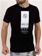 Camiseta Manga Curta Masculina Fido Dido Preto