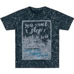 Camiseta Marisol Rock Menino Cinza
