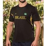 Camiseta Masculina Dry Line Brasil 125704 Elite