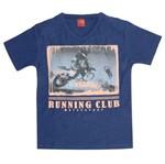 Camiseta Menino Clube de Corrida Azul - Kyly 8