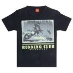 Camiseta Menino Clube de Corrida Preto - Kyly 8