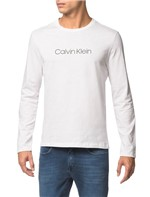 Camiseta Ml Slim Basica Flame - Branco 2 - PP