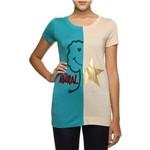 Camiseta Moschino Bicolor