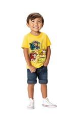 Camiseta Patrulha Canina® Menino Malwee Kids Amarelo - 2
