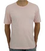 Camiseta Pau a Pique Básica Rosa ROSA BEBÊ - ST - G