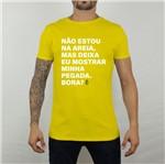 Camiseta Pegada Amarela