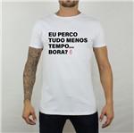 Camiseta Perco Tudo Branca