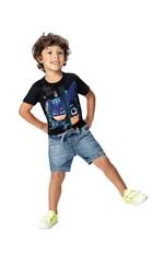 Camiseta PJ Masks® Menino Malwee Kids Preto - 8