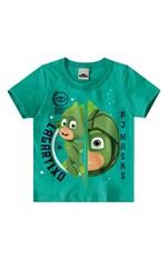 Camiseta PJ Masks® Menino Malwee Kids Verde Claro - 1