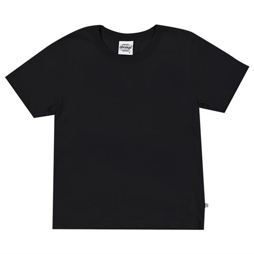 Camiseta Juvenil Abrange Básico Preto 12