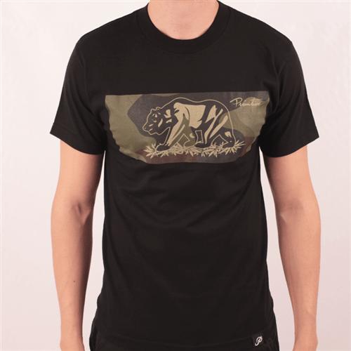 Camiseta Primitive Urso Preto P