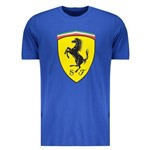 Camiseta Puma Scuderia Ferrari Big Shield Royal