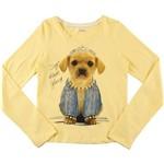 Camiseta Puramania Kids Estampa Cachorro