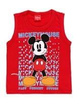 Camiseta Regata Disney Baby Infantil para Menino - Vermelho
