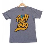 Camiseta Rolling Roll Cinza