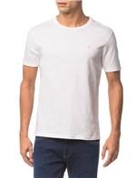 Camiseta Slim Careca Flame Calvin Klein - Branco 2 - PP