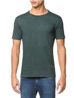 Camiseta Slim Careca Flame Calvin Klein - Floresta - PP