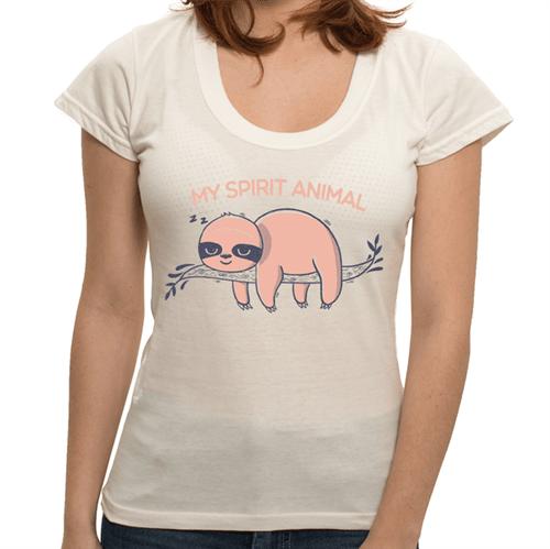 Camiseta Spirit Animal - Feminina P