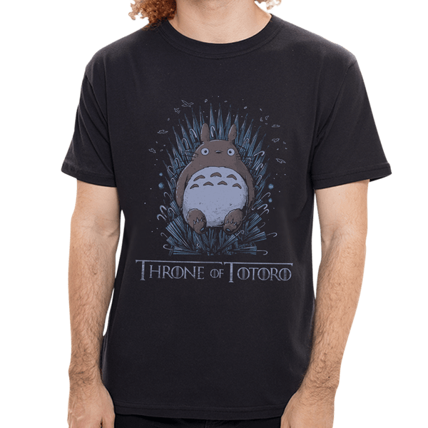 Camiseta Throne Of Totoro - Masculina - P