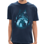 Camiseta Totoro Silhueta - Masculina - P