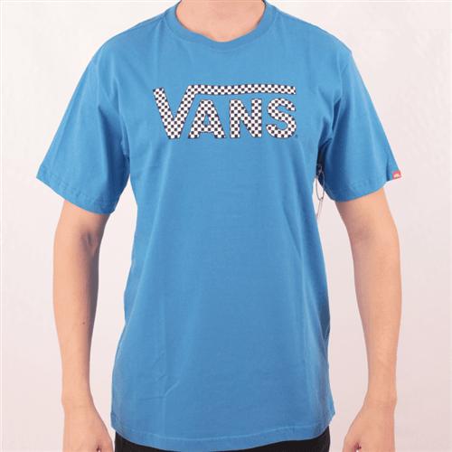 Camiseta Vans Classic French Azul P