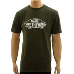 Camiseta Vans Fill Peace Olive (P)