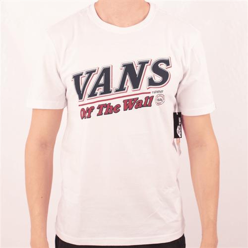 Camiseta Vans Mc Pitcher Branco G