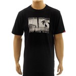 Camiseta Vans Push Through II Black (P)