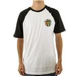 Camiseta Vans Raglan Retro Star (P)